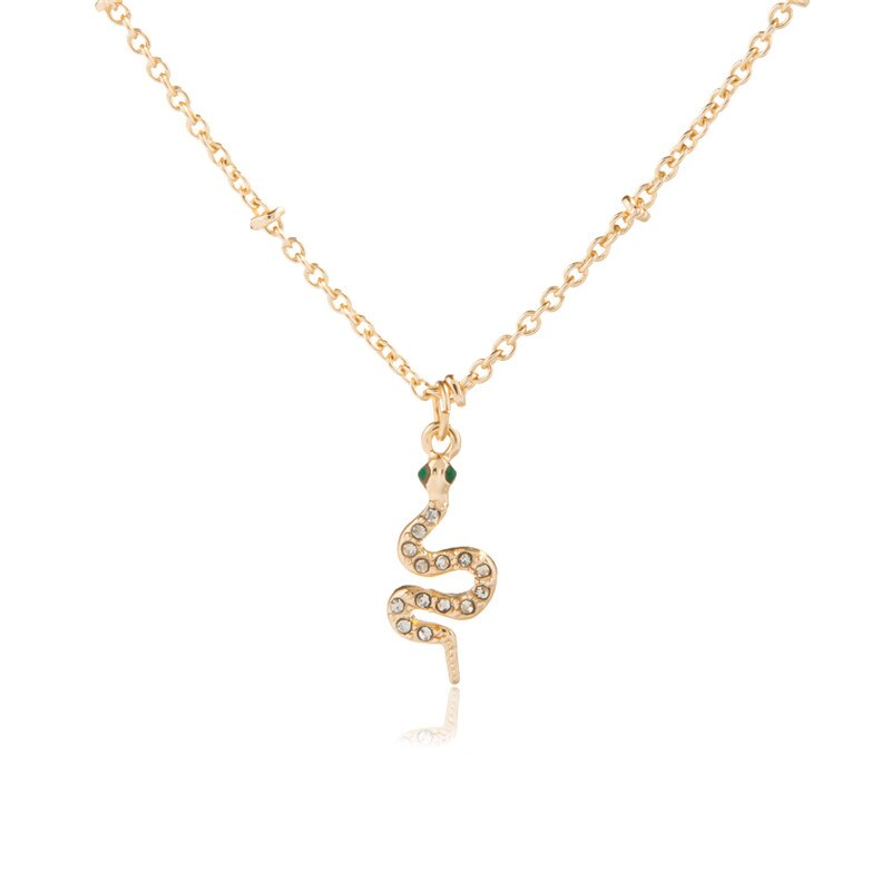 Cute Snake / Dragon / Leopard & Crocodile Pendant Necklace