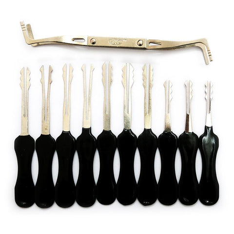 H&H 30-in-1 Lock Picks Set Boutique Locksmith Tools