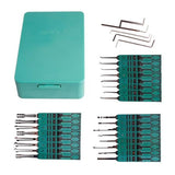 KLOM 32 Pieces Lock Pick Set (Plastic Case)