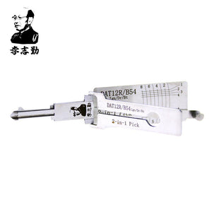 Mr. Li's Original Lishi DAT12R/B54 2in1 Decoder and Pick for Isuzu