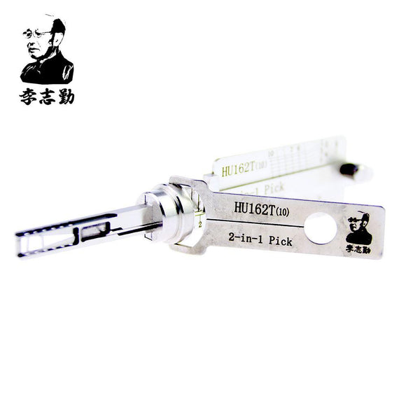 Mr. Li's Original Lishi HU162T(10) 2in1 Decoder and Pick for VAG 2015
