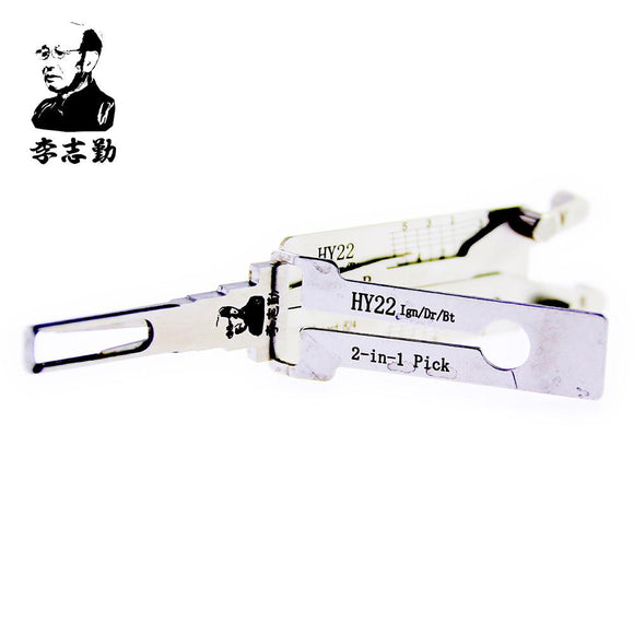 Mr. Li's Original Lishi HY22 2in1 Decoder and Pick for Hyundai, KIA