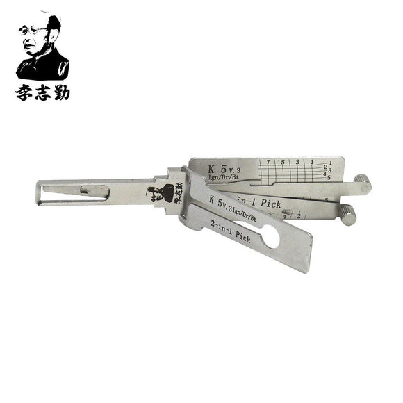 Mr. Li's Original Lishi K5 2in1 Decoder and Pick for KIA