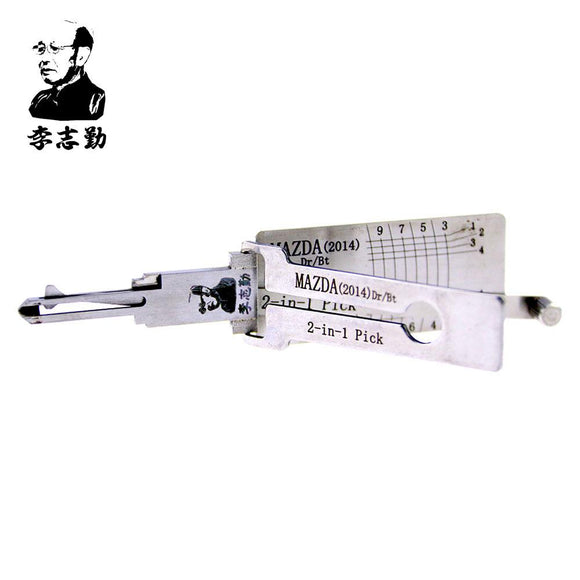 Mr. Li's Original Lishi MAZDA(2014) 2in1 Decoder and Pick for Mazda 2014 Onwards