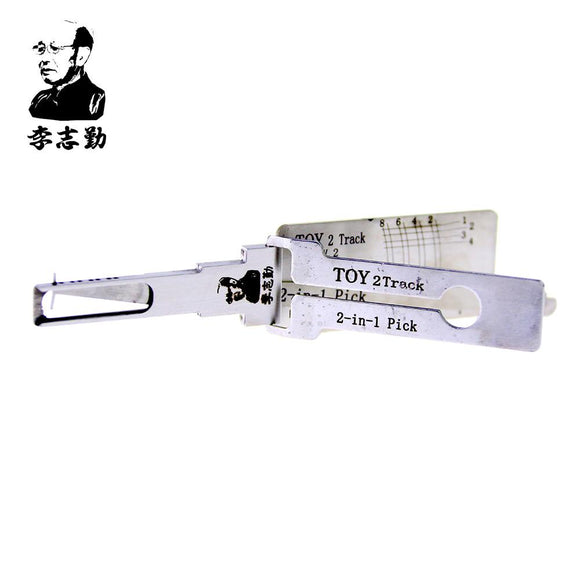 Mr. Li's Original Lishi TOY 2Track 2in1 Decoder and Pick for Toyota