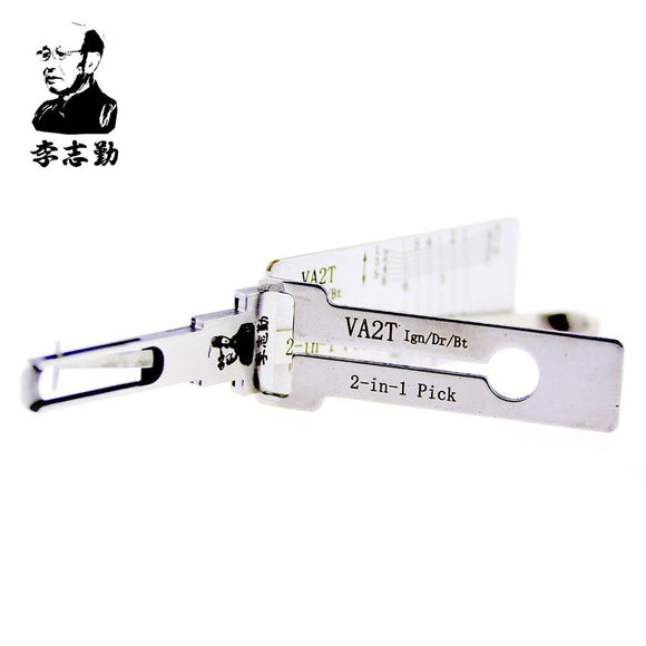 Mr. Li's Original Lishi VA2T 2in1 Decoder and Pick for Citroen, Peugoet, Renault