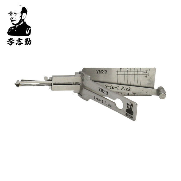 Mr. Li's Original Lishi YM23 2in1 Decoder and Pick for Mercedes & Smart