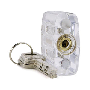 Clear Disc Detainer Practice Lock