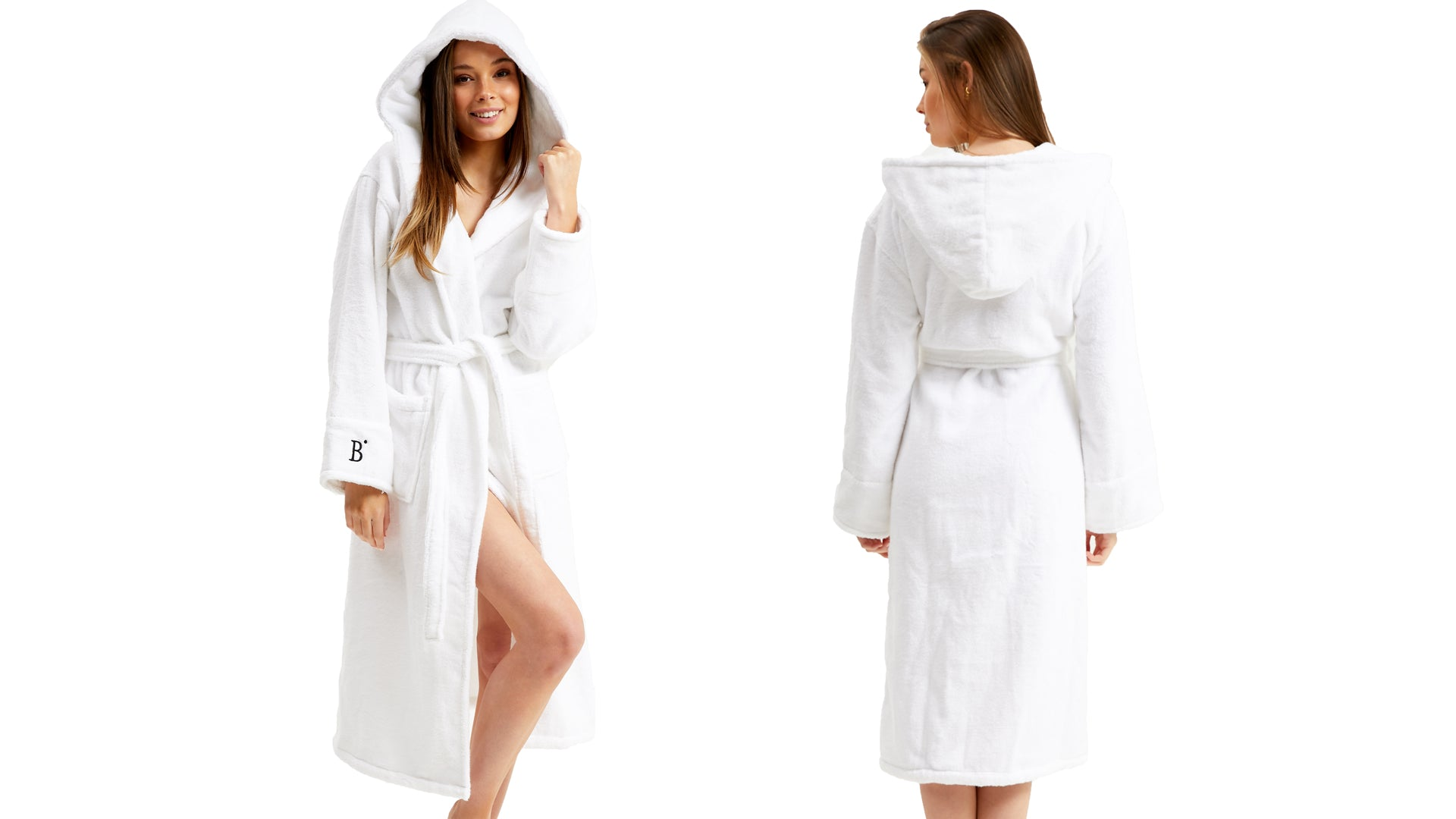 Hydro Cotton Hooded Robe