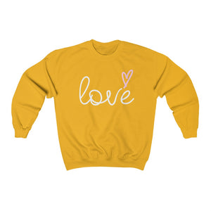 LOVE Unisex Heavy Blend™ Crewneck Sweatshirt