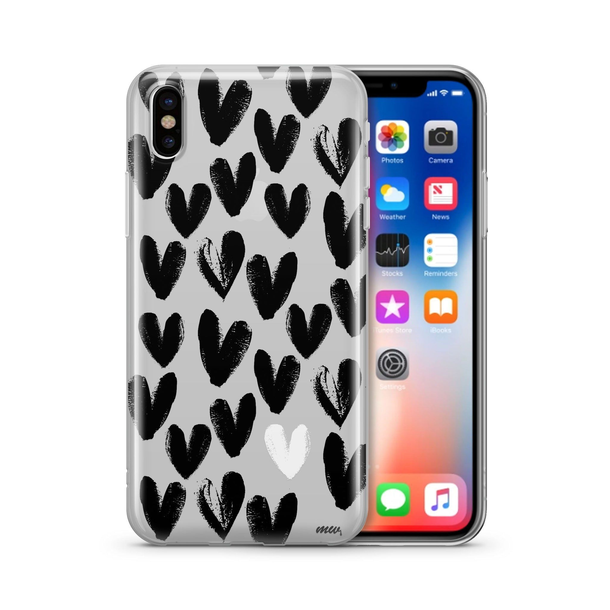 One Love Clear Phone Case Cover