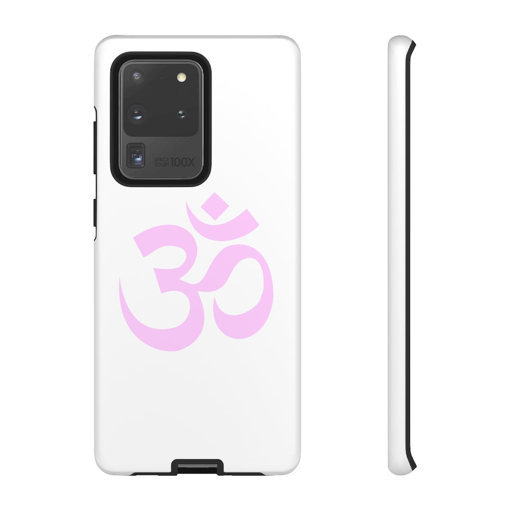 OM Phone Case (White)