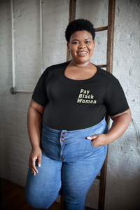 Pay Black Women Tee - Pocket
