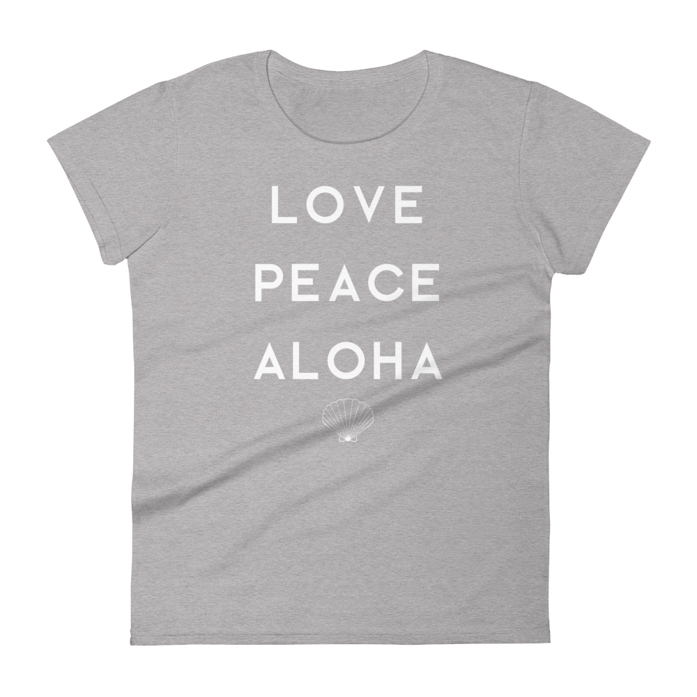 HIPPIE SHIRT LOVE PEACE ALOHA
