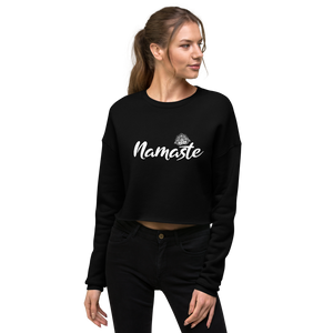 HIPPIE NAMASTE CROP TOP SWEATER