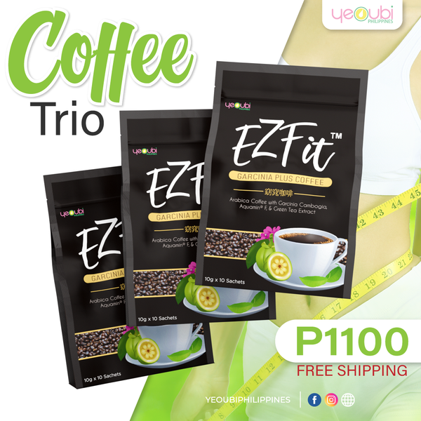 3 packs Ezfit Coffee COD and Free Shipping nationwide for only P1,100