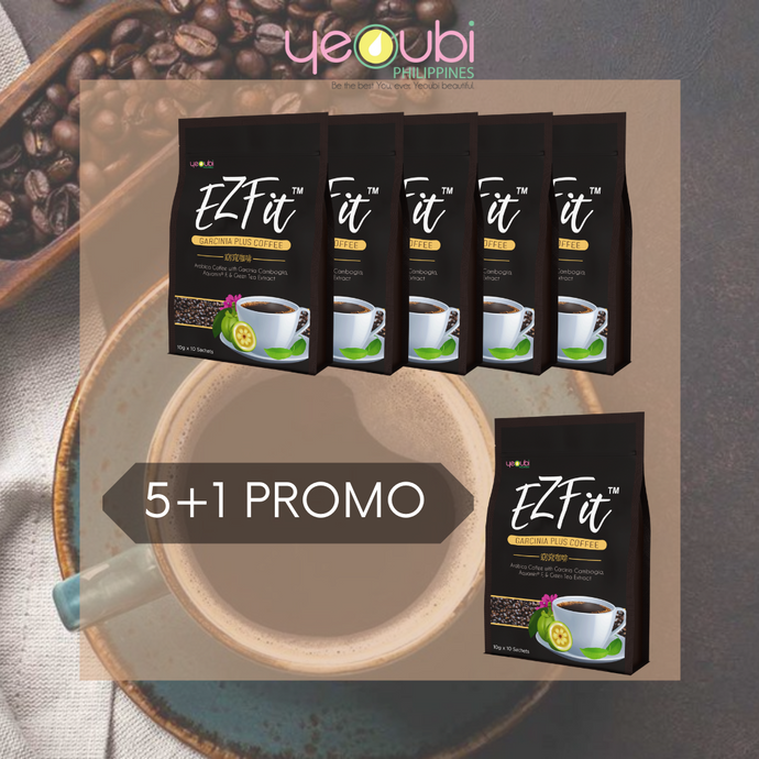 EzFit Coffee  5 + Free 1 EzFit Coffee Cash On Delivery Free Shipping Nationwide Extended Promo!