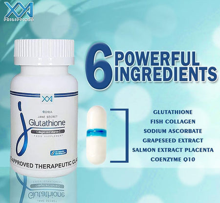 Jane Secret Glutathione - 100% Authentic