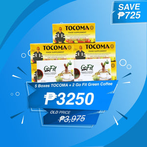 Tocoma 5 Boxes + Free 2 boxes