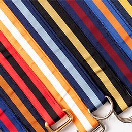 Classic Ribbon D-Ring Belts by Barrons-Hunter