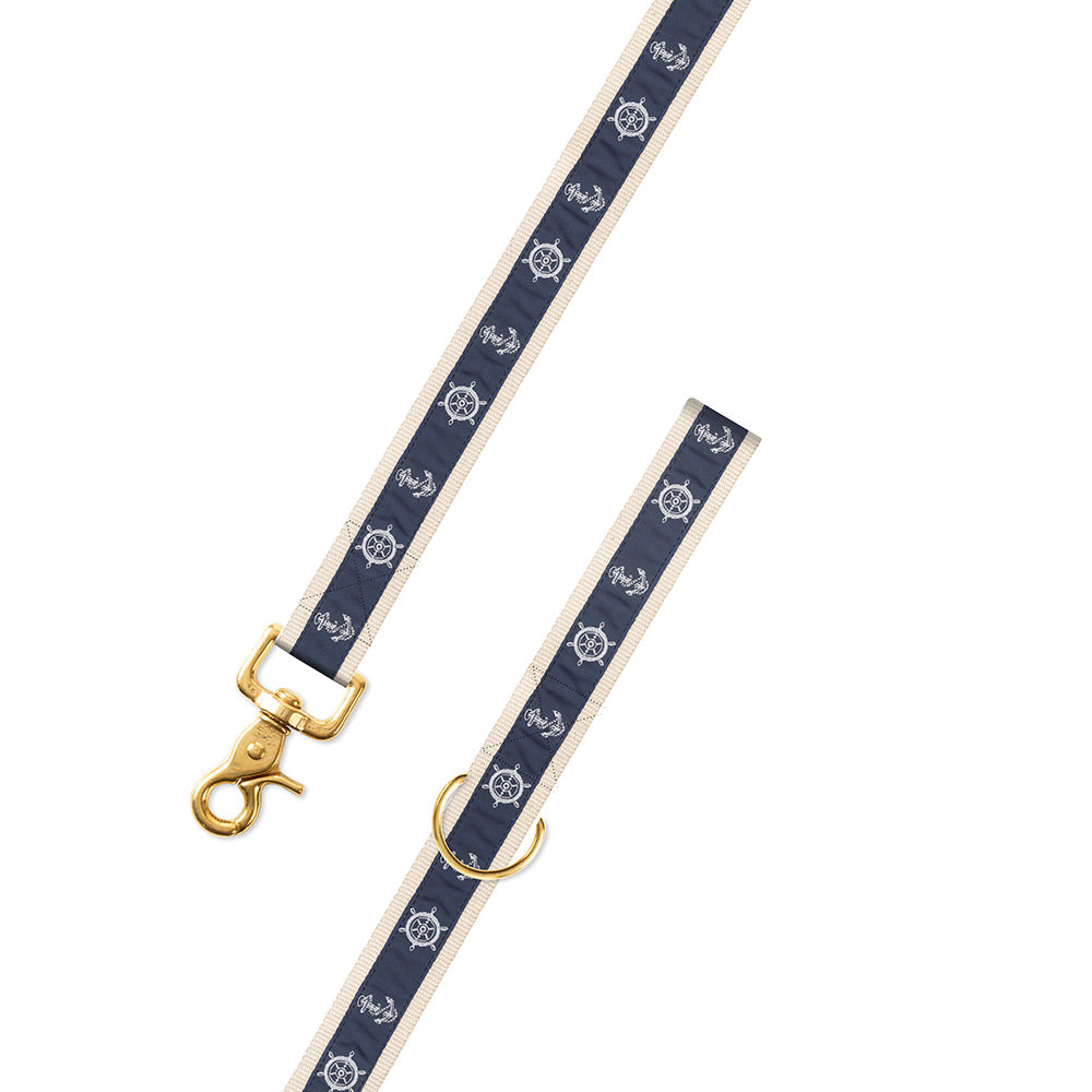Anchor Motif Dog Leash
