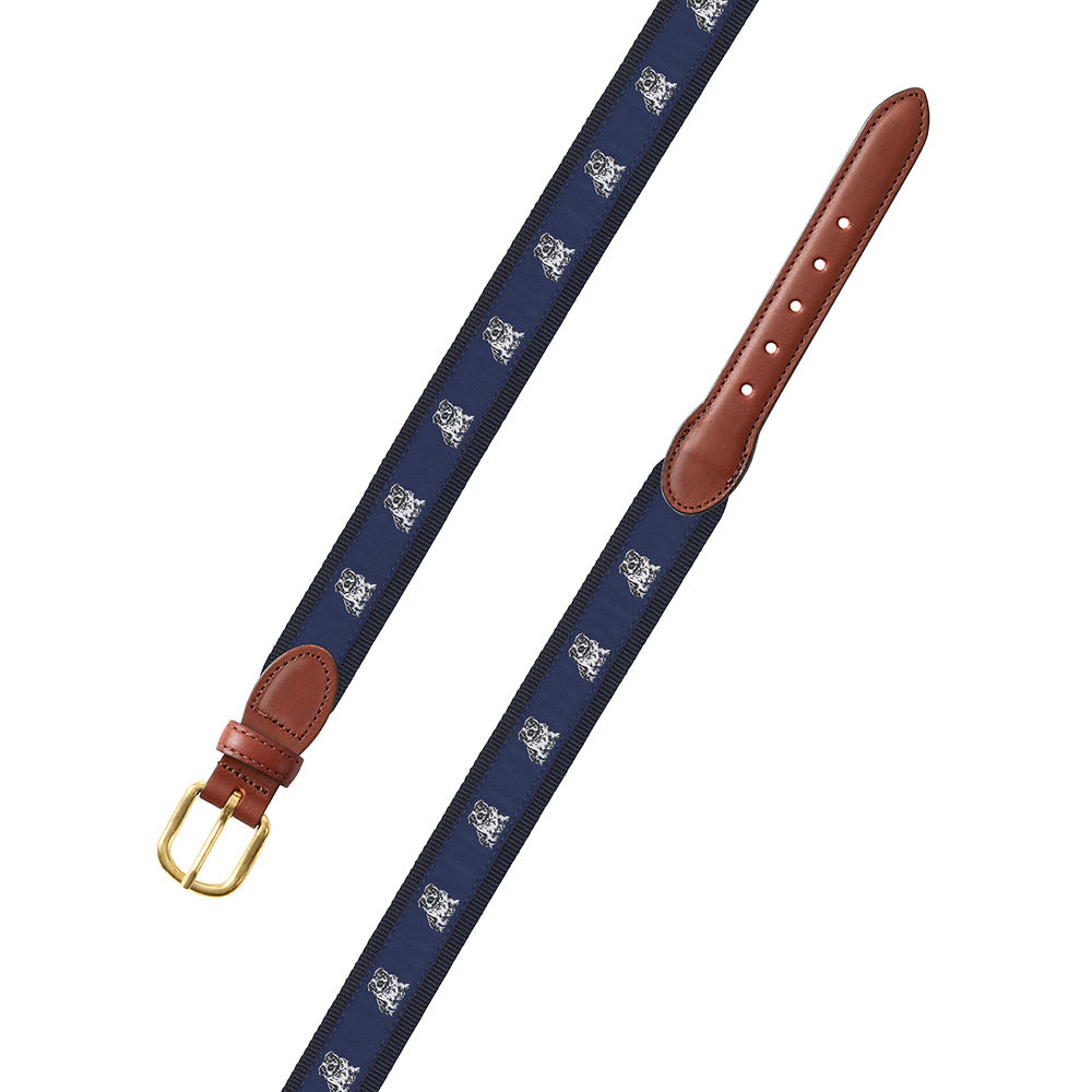 Bull Dog Motif Children's Belt