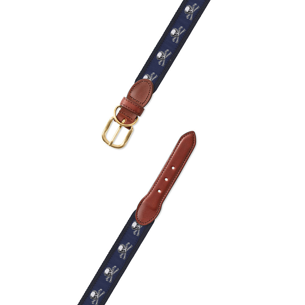 Cross Bones Motif Dog Collar