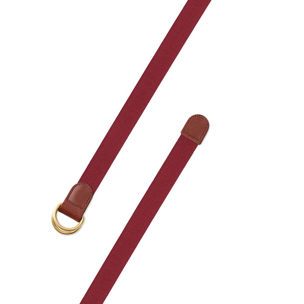Cranberry Surcingle D-Ring Belt