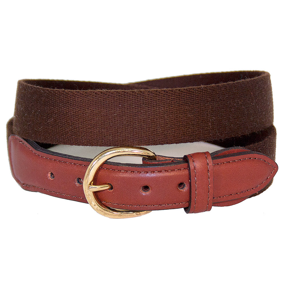 Brown Surcingle Children's Belt