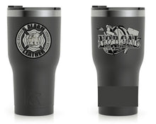 Load image into Gallery viewer, 5 Alarm Leather Tumbler