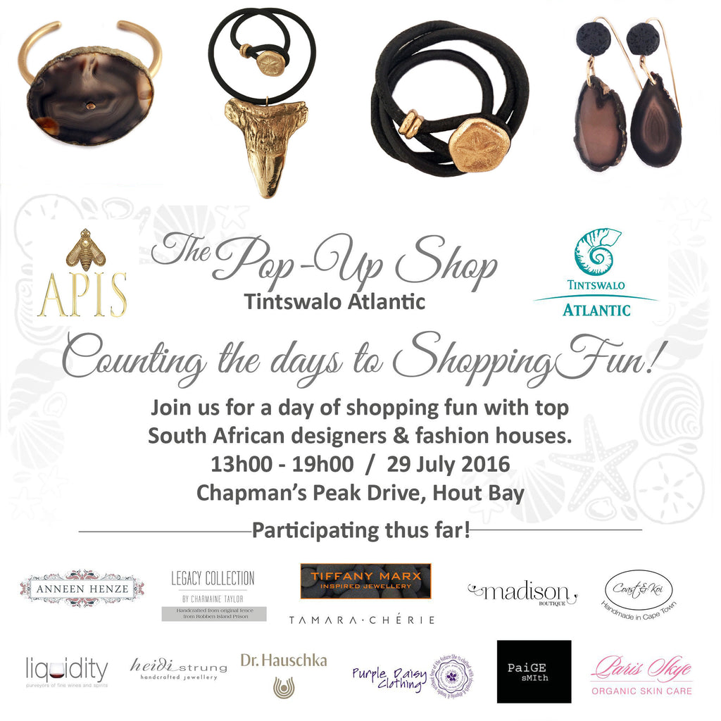 The Pop-Up Shop at Tintswalo Atlantic this Friday 29th July