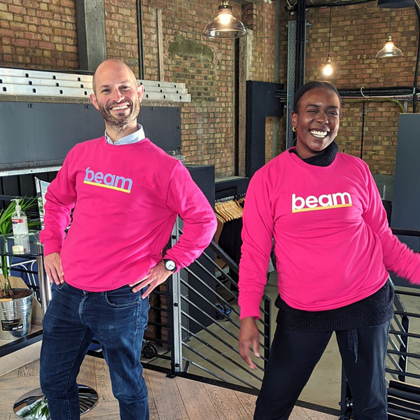 Beam Sweatshirt - Hot Pink