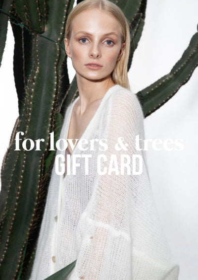 for lovers and trees GIFT CARD for lovers and trees 40203271175