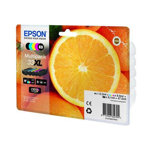 Cartuccia ad Inchiostro Originale Epson T33XL (5 pcs) Multicolore