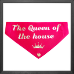 "Bandana ""The queen of the house"""