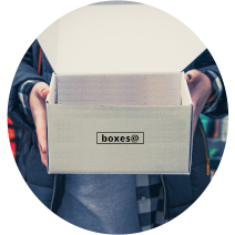 Boxxesat White Box being held by a Girl