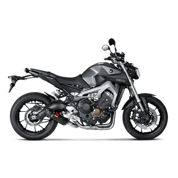 FZ-09 / MT-09 / FJ-09 / Tracer 900 / XSR-900 Akrapovic Carbon Performance Package
