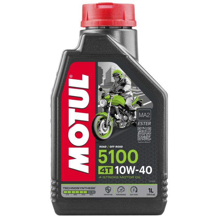 Motul 5100 Synthetic Blend Engine Oil 10w40