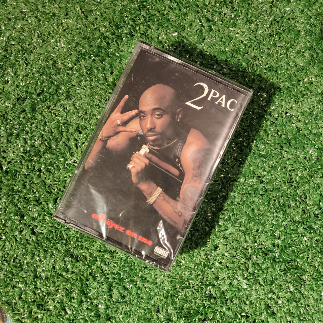 TUPAC ALL EYEZ ON ME CASSETTES 1995