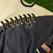 Load image into Gallery viewer, VINTAGE DALLAS COWBOYS STITCH FOOTBALL SWEATSHIRT