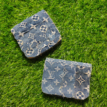 Load image into Gallery viewer, MONOGRAM DENIM MINI POUCHES