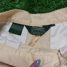 Charger l'image dans la galerie, VINTAGE RALPH LAUREN BABY YELLOW CHINO TROUSERS