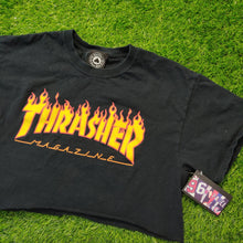 Load image into Gallery viewer, THRASHER CROP TEE