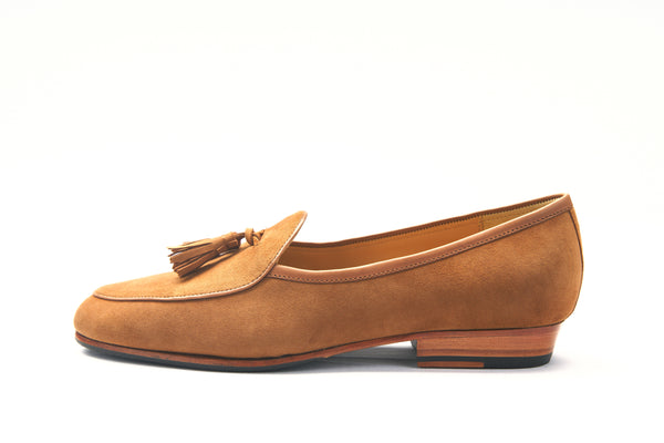 The Cognac Brown Tassel Numans