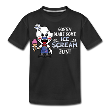 Load image into Gallery viewer, Ice Scream Fun T-Shirt - black