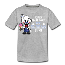 Load image into Gallery viewer, Ice Scream Fun T-Shirt - heather gray