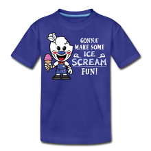 Load image into Gallery viewer, Ice Scream Fun T-Shirt - royal blue