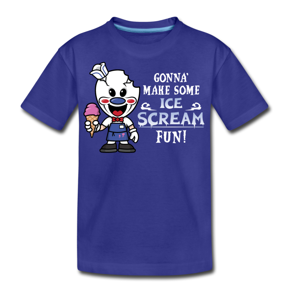 Ice Scream Fun T-Shirt - royal blue