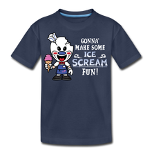 Load image into Gallery viewer, Ice Scream Fun T-Shirt - navy