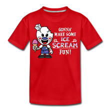 Load image into Gallery viewer, Ice Scream Fun T-Shirt - red